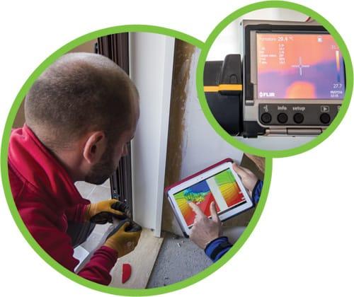 Servizio di termografia